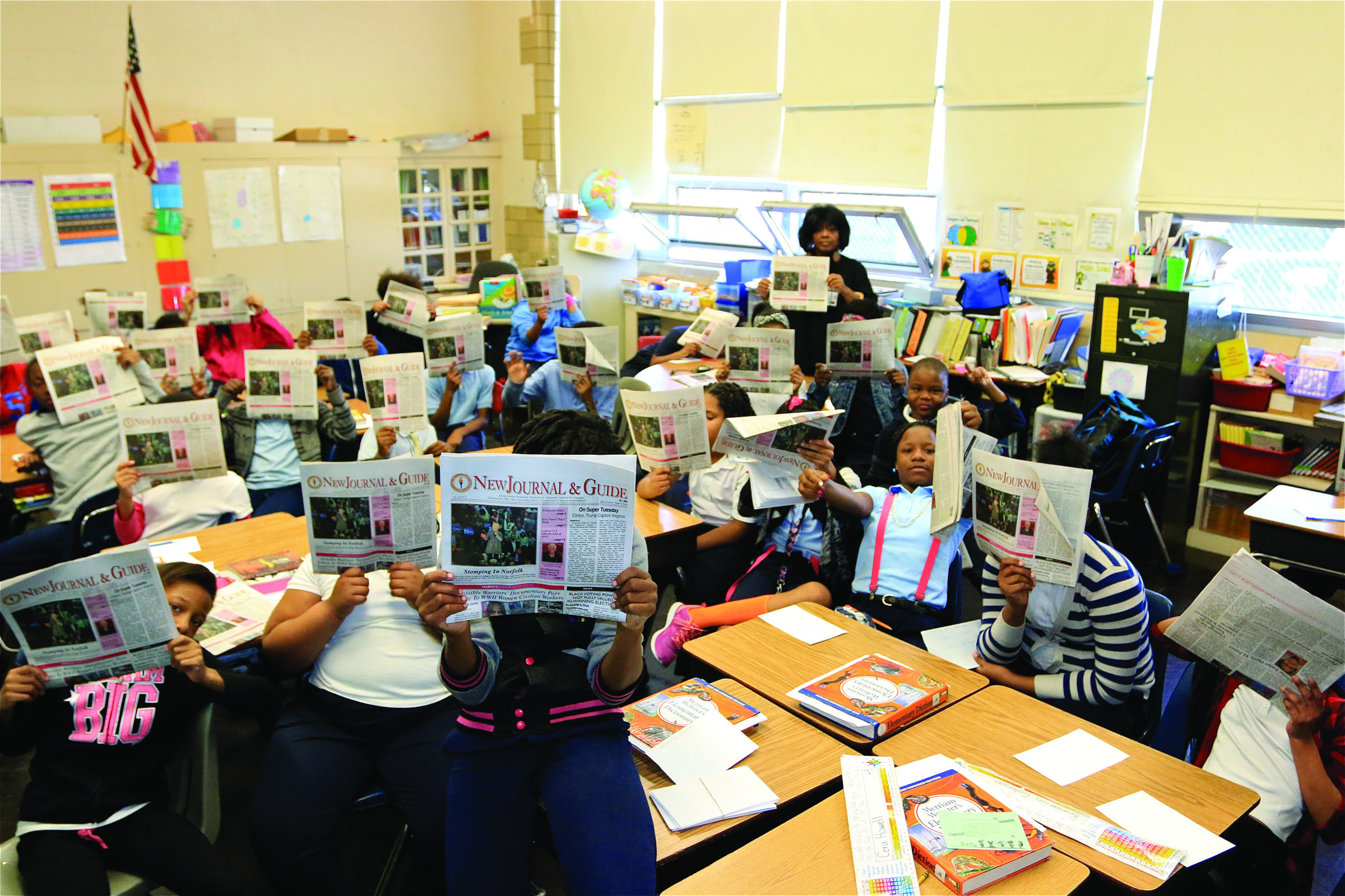 'Talking About Life' With Jacox Elem. Students
