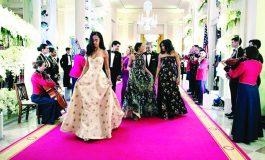 Malia, Sasha Obama 'Come of Age'   At State White House Dinner