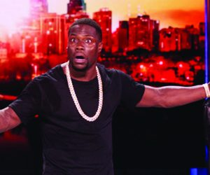 "Kevin Hart stars in new stand-up set ""What Now?"""