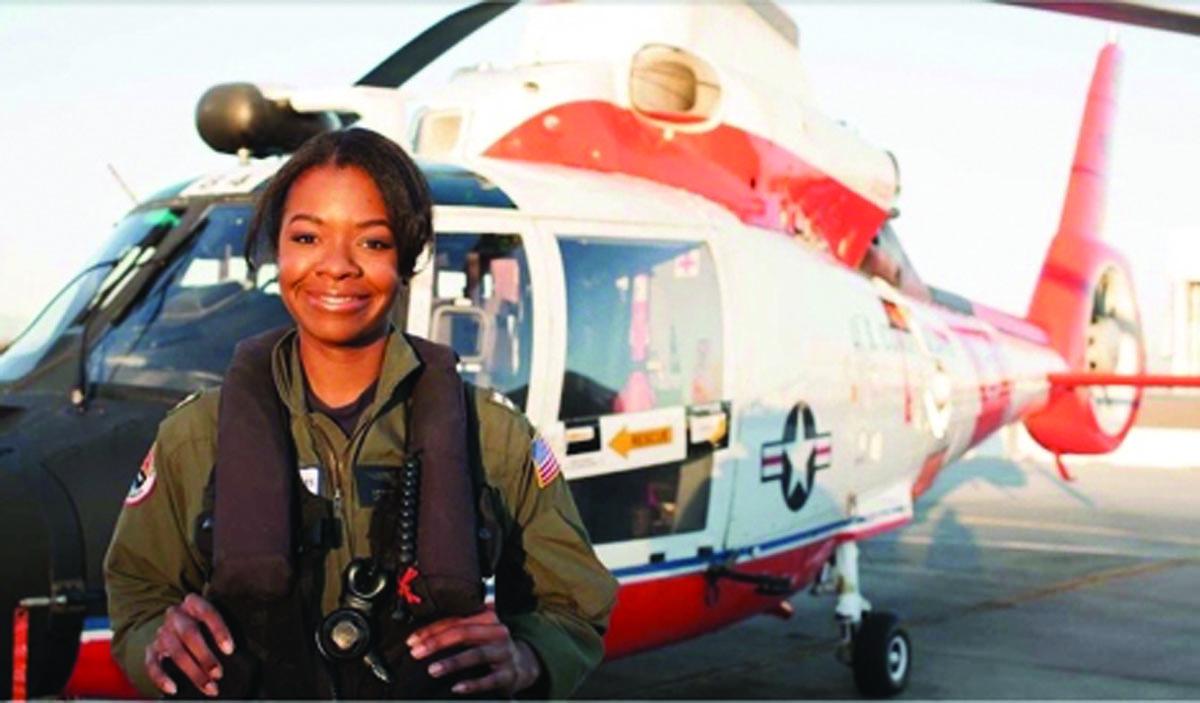 Coast Guard Lt. Shows  Blacks Still Defying Odds