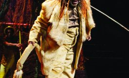 The Wiz at the Wells Theatre: The 'Cowardly Lion' Fulfills His Childhood Dream