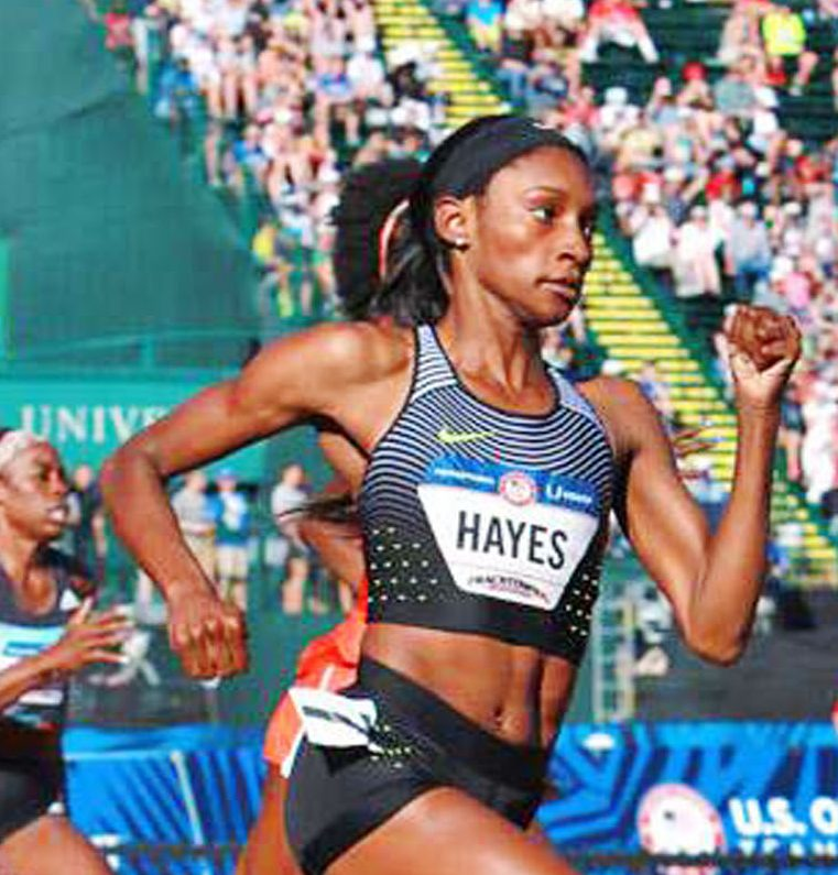 Hayes punches ticket to London