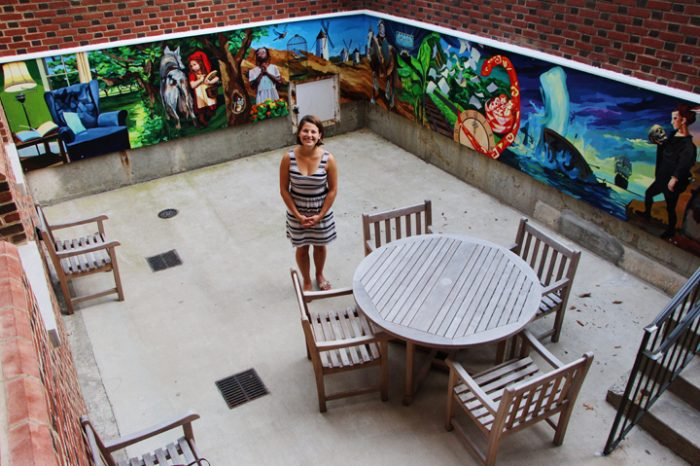 Mural At William & Mary Honors  First Black Students Who Lived on Campus