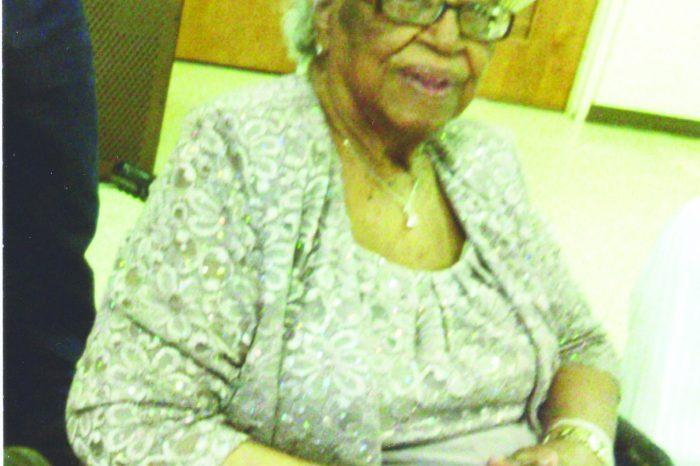Mrs. Catherine Nicholson Celebrates 101 Years