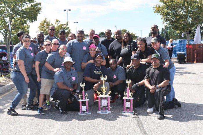 Chesapeake Sheriff's Office Joins Fight Against  Breast Cancer In Its '3rd Annual Pull For Pink'