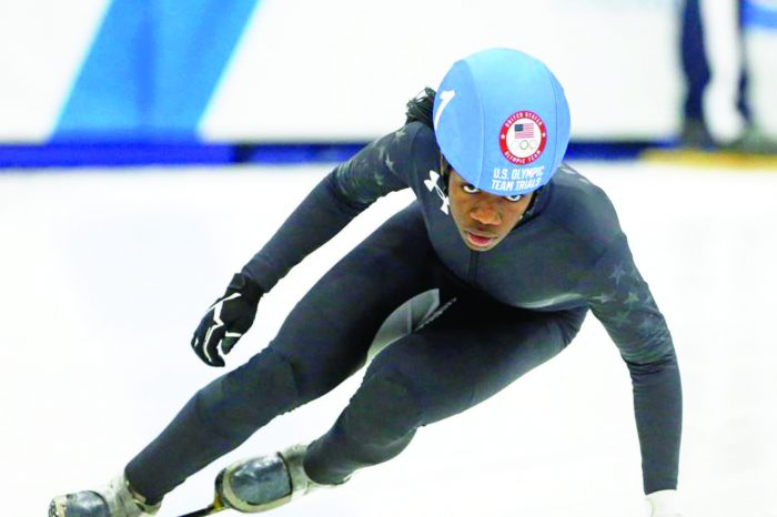 Black Woman Speed Skater  Heads to 2018 Olympics