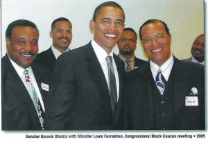 Photo of Sen. Obama,  Farrakhan In New Book