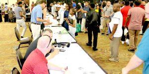Job Fair Attracts Hundreds