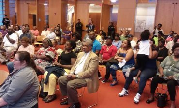 Public Hearing On Recycling Plant Held At Slover Library