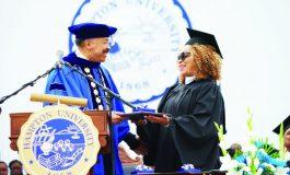 Black Panther Costume Designer Ruth Carter  Keynotes Hampton University Graduation