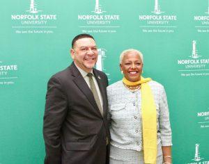 NSU Introduces New President