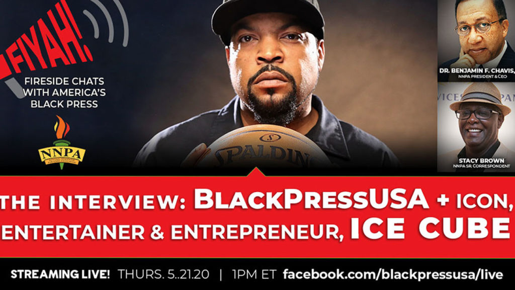 NNPA Exclusive : Iconic Entertainer and Entrepreneur , Ice Cube , Speaks to the Black Press of America